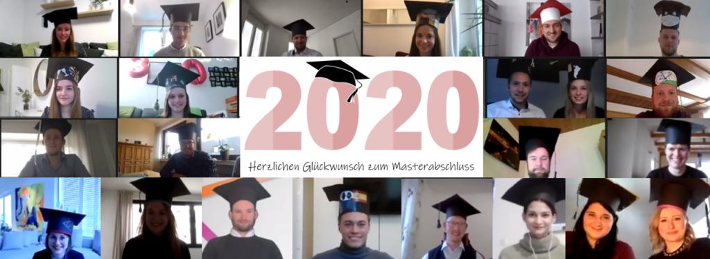 Abschlussfeier des Masterjahrgangs 2018